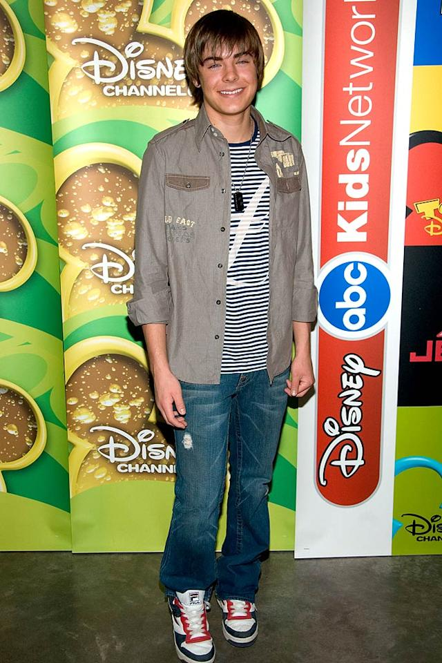 "The ""17 Again"" star has definitely grown up -- and hit the gym -- since he first arrived on the Disney scene at age 18. Lawrence Lucier/<a href=""http://www.filmmagic.com/"" target=""new"">FilmMagic.com</a> - February 9, 2006"