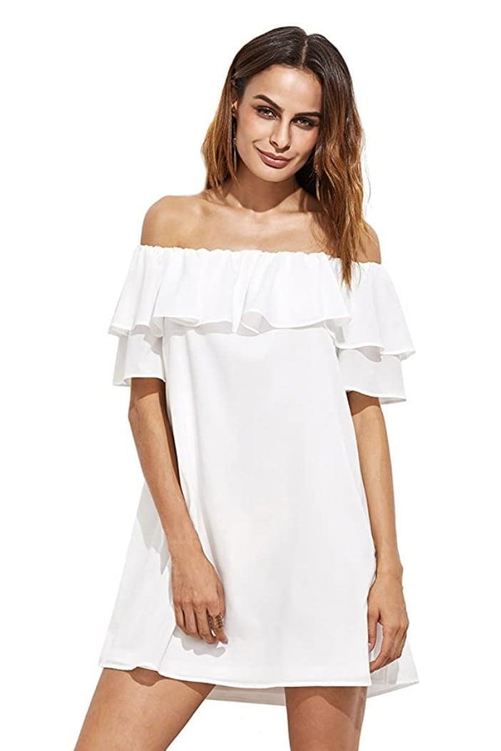 <p>Throw this <span>Milumia Mini Dress</span> ($19-$31) over a bikini at the pool, or wear it to a daytime rooftop party. </p>