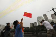 Celebrations marking the 100th founding anniversary of Communist Party of China, in Beijing