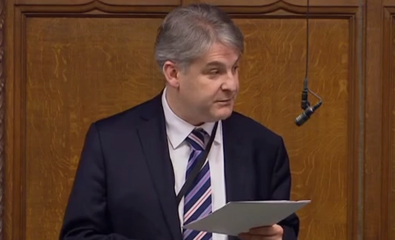 Tory MP Philip Davies said judges should be held 'accountable': House of Commons