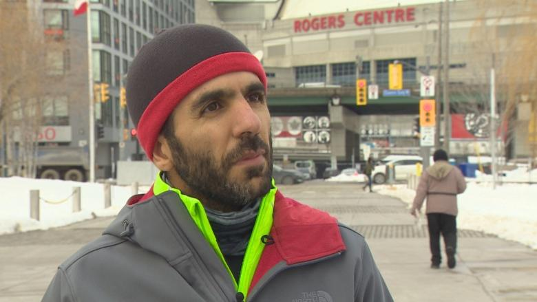 Marathon runner stopped in his tracks by Trump travel ban