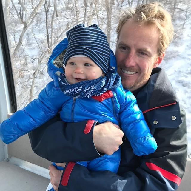 <p>ted_ligety: He is the bright spot on the day. Jax could give two ____s that daddy sucked at work today.<br> (Photo via Instagram/ted_ligety) </p>