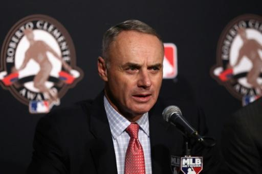 Major League Baseball commissioner Rob Manfred wants the American pastime to help the United States recover from the coronavirus pandemic whenever the season starts