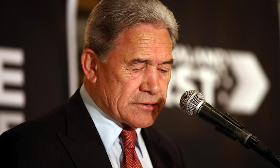 Winston Peters New Zealand First party failed to win enough votes on Saturday to return to parliament.