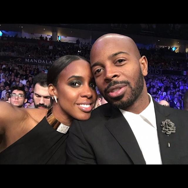 """<p><span>The singer (and new author) celebrated three years of marriage with hubby Tim Witherspoon with this smiling photo of the two all glammed up and the caption, """"Forever…………………Happy Anniversary my [heart]."""" (Photo: <a href=""""https://www.instagram.com/p/BT5DLl2gP1V/?taken-by=kellyrowland"""" rel=""""nofollow noopener"""" target=""""_blank"""" data-ylk=""""slk:Kelly Rowland via Instagram"""" class=""""link rapid-noclick-resp"""">Kelly Rowland via Instagram</a>)</span> </p>"""