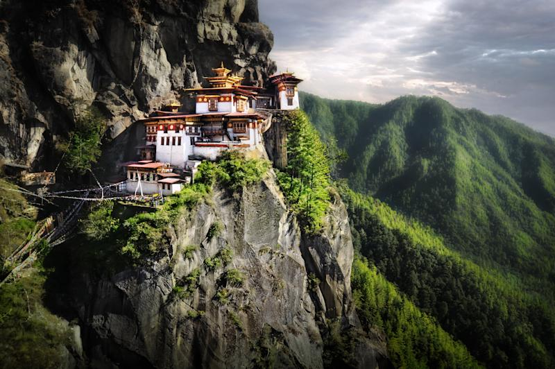 Bhutan came first in Lonely Planet's top 10 countries to visit. [Photo: Getty]