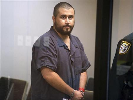 George Zimmerman arrives for his first-appearance hearing in Sanford, Florida