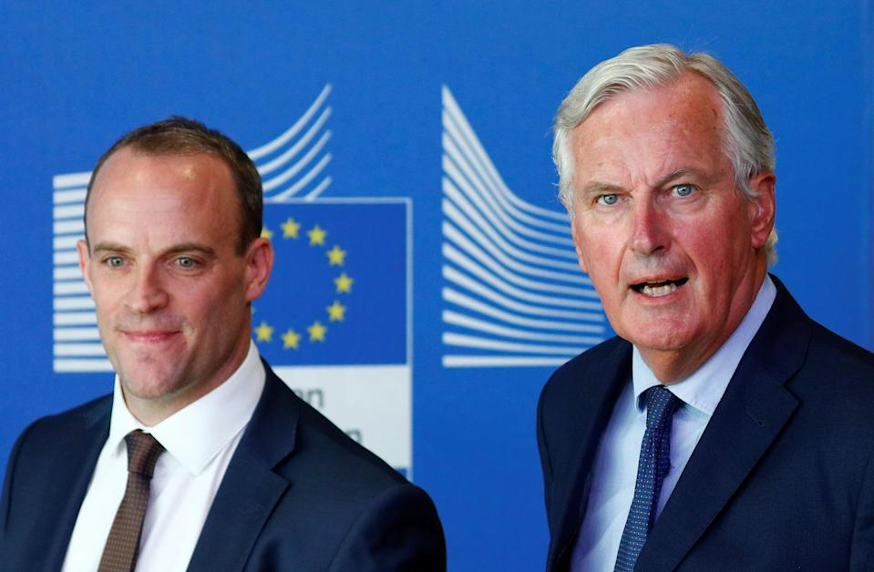 Michel Barnier blasted attempts to blame the EU for faltering Brexit talks (Reuters)