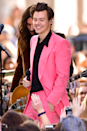 """<p>Ah, yes, the pink suit from the <em>TODAY </em>show. If Harry is the Monet of wearing suits, then this is his """"Water Lilies."""" </p>"""