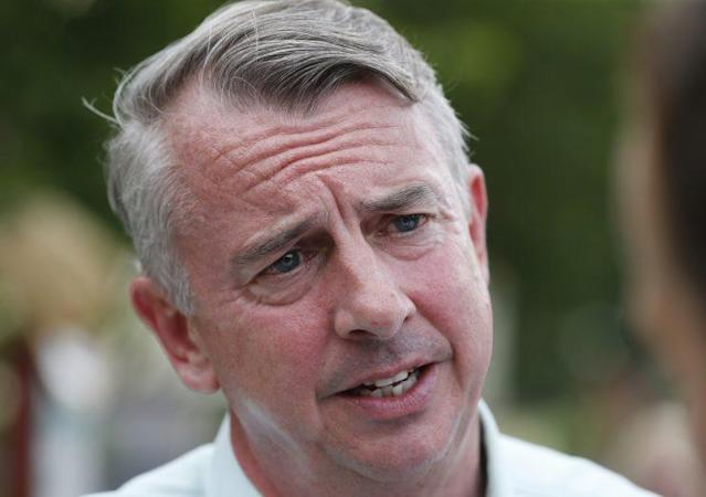Republican candidate for governor, Ed Gillespie, talks with voters at a polling place, June 13, 2017, in Richmond, Va. (Photo: Steve Helber/AP)