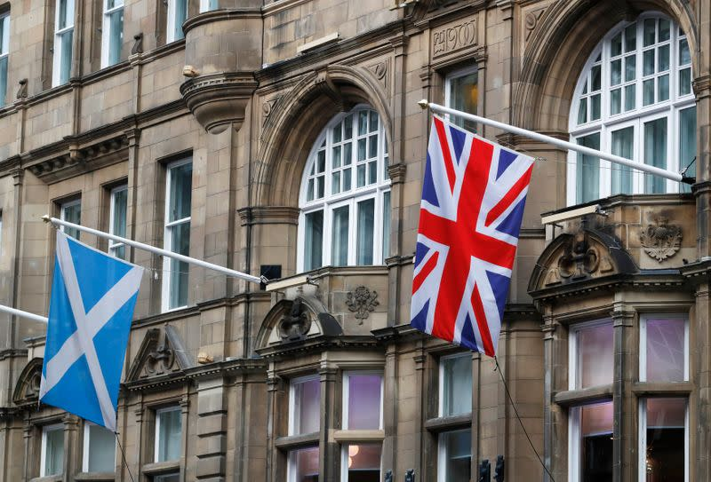 Support for Scottish independence at record 58% - Ipsos MORI poll