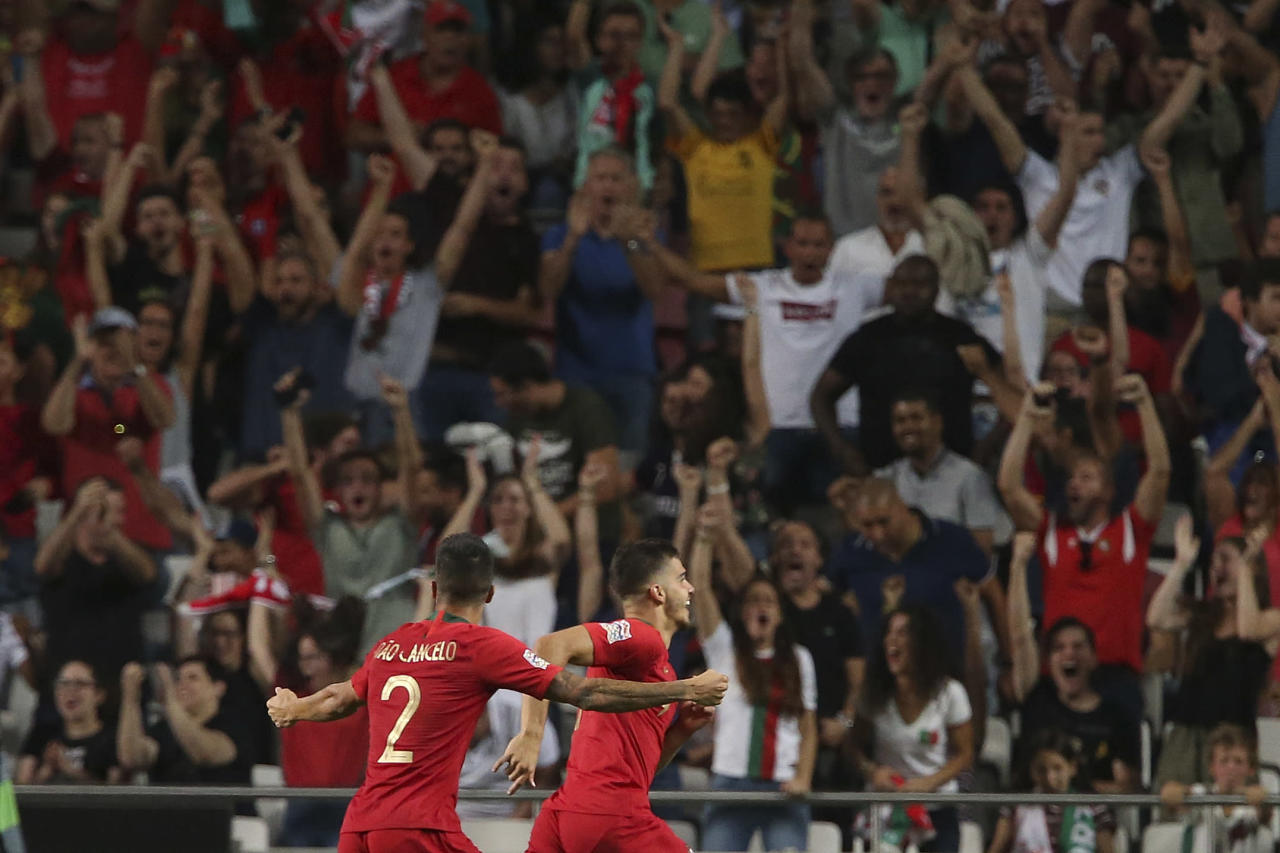 Portugal adds to Italy's struggles with Nations League win