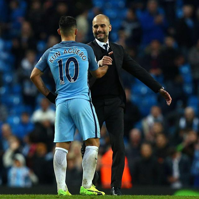 <span>Guardiola says he does not doubt Aguero's quality</span> <span>Credit: AP </span>