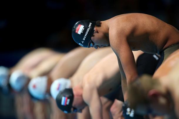 Joseph competes at the 15th FINA World Championships on July 30, 2013 in Barcelona, Spain. (Getty Images)