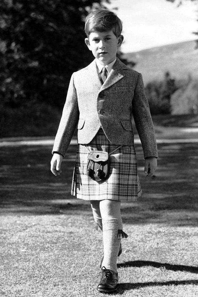 <p>Princes Charles has been wearing Balmoral tartan since he was a little boy.</p>