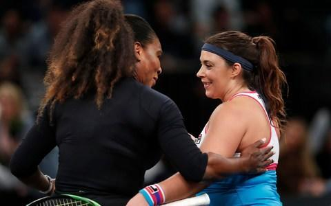 <span>Serena defeated Bartoli in the battle of the comebacks in New York</span> <span>Credit: AP </span>