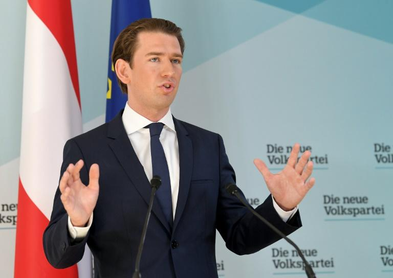 "Austrian Chancellor Sebastian Kurz has appointed new cabinet ministers in the wake of the so-called ""Ibiza-gate"" affair"