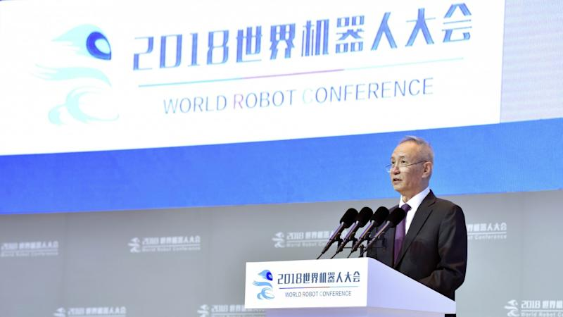 Join forces with China for a new robotics future, Vice-Premier Liu He says