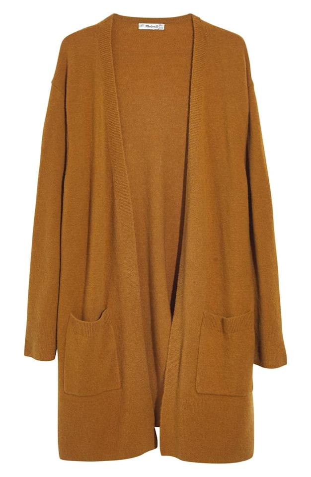 "<p>You can never go wrong with a cozy camel cardigan. It would make a great gift for any woman in your life, from your grandmother to your best friend.<br /><a rel=""nofollow"" href=""https://fave.co/2EehkwY""><strong>Shop it: </strong></a>Kent Cardigan Sweater, $74 (was $98), <a rel=""nofollow"" href=""https://fave.co/2EehkwY"">nordstrom.com</a> </p>"