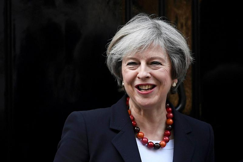 Theresa May has hailed the 'astounding' Tory victory in Copeland: REUTERS