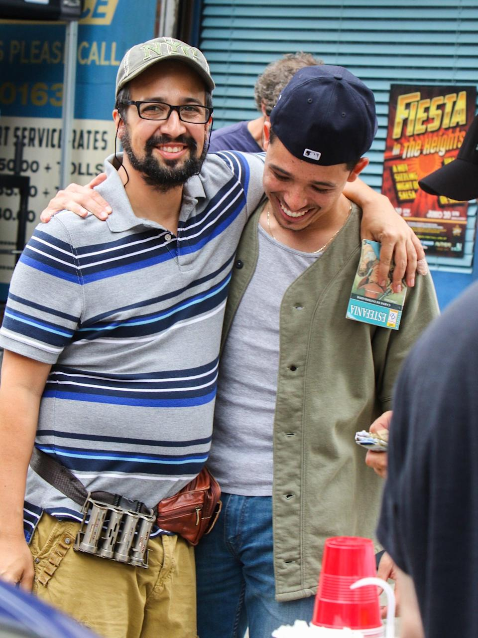When They Shared a Moment on the Set of In the Heights