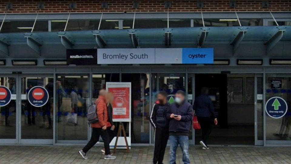 <p>Bromley South station</p> (GoogleMaps)