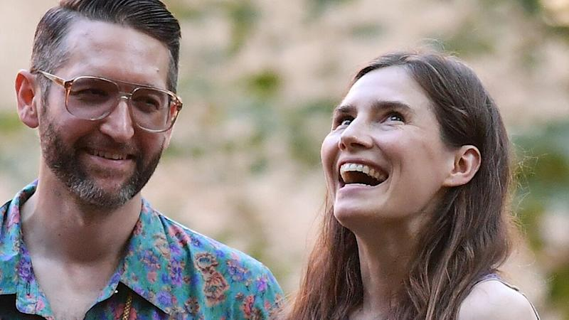 Amanda Knox Reveals She and Christopher Robinson Are Already Married Ahead of Upcoming Nuptials