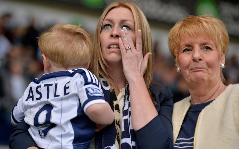 The family of Jeff Astle have stoically led the demand for answers - This content is subject to copyright.