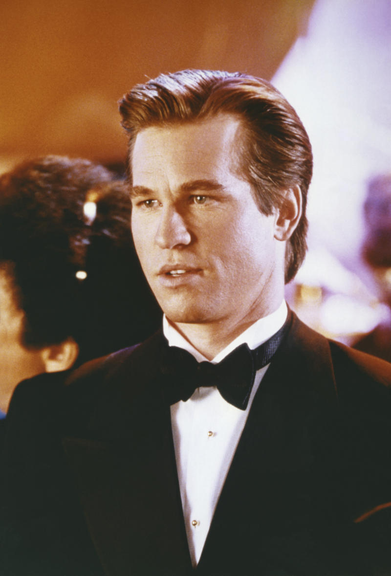 American actor Val Kilmer on the set of Batman Forever, directed by Joel Schumacher. (Photo by Warner Bros. Pictures/Sunset Boulevard/Corbis via Getty Images)