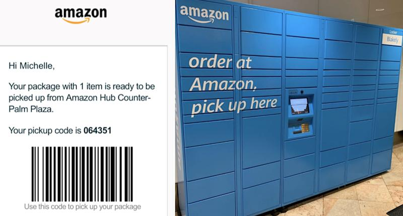 Amazon has rolled out locker collections in other markets. Source: Supplied