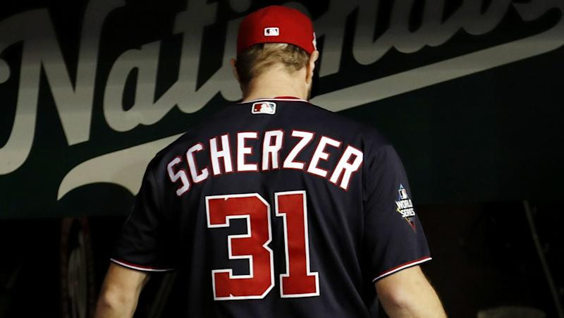 Max Scherzer to start World Series Game 7 at Houston