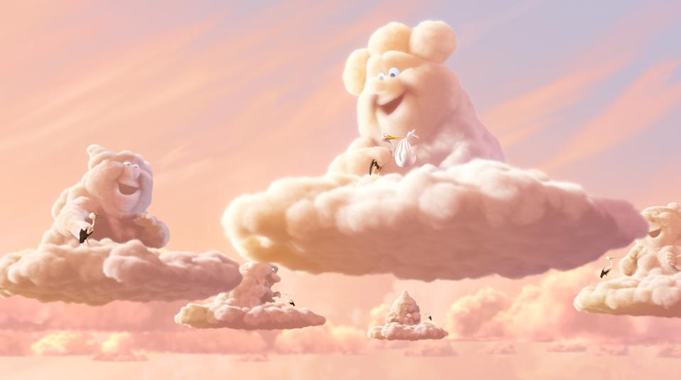 There's a high chance of mirth in Partly Cloudy. (Pixar)