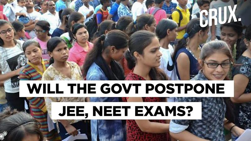 States And Political Leaders Urge Centre To Postpone JEE, NEET Exams