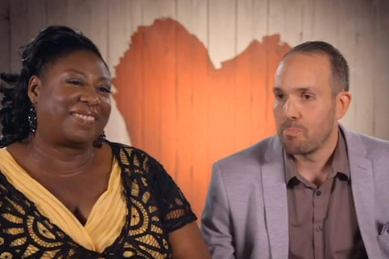 Rainbow: The pair hit it off and agreed to a second date (Channel 4 / First Dates)