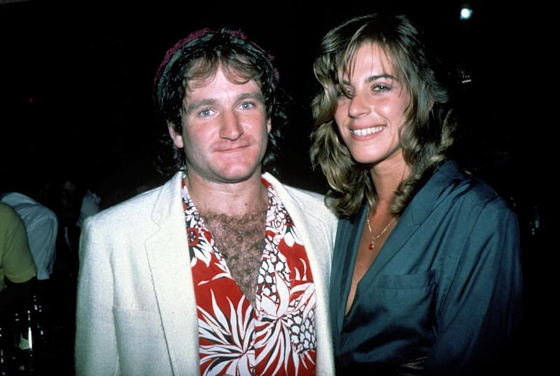 Robin Williams and wife Valerie Velardi circa 1979 in New York.