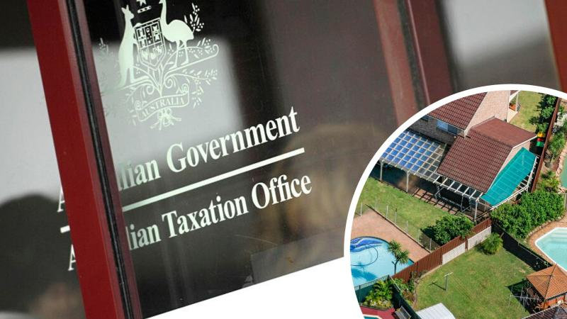 Pictured: Australian Tax Office, Australian houses. Images: Getty