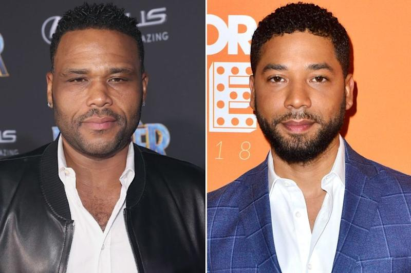 Anthony Anderson, Jussie Smollett | Jesse Grant/Getty Images; Jerod Harris/Getty Images