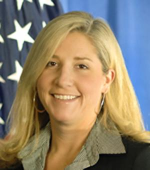 This undated image provided by the U.S. Department of Homeland Security shows Chief of Staff Suzanne Barr. Barr a senior Obama administration political appointee and longtime aide to Homeland Security Secretary Janet Napolitano resigned Saturday Sept. 1, 2012 amid allegations of inappropriate sexual behavior lodged by at least three Immigration and Customs Enforcement employees. (AP Photo/U.S. Department of Homeland Security)