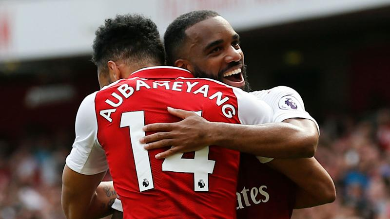 1004ead1b Aubameyang vs Henry  Lacazette has his say on comparisons between Arsenal  strikers