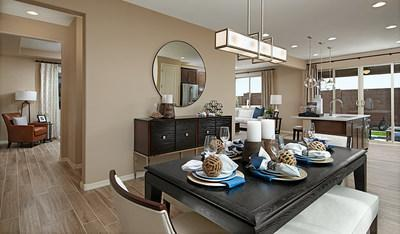 The Lawson model home is opening for tours at Richmond American's Sagewood at Sierra Pine community in Rocklin, CA.