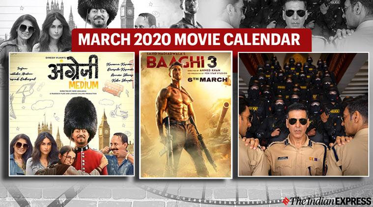 movies in march 2020