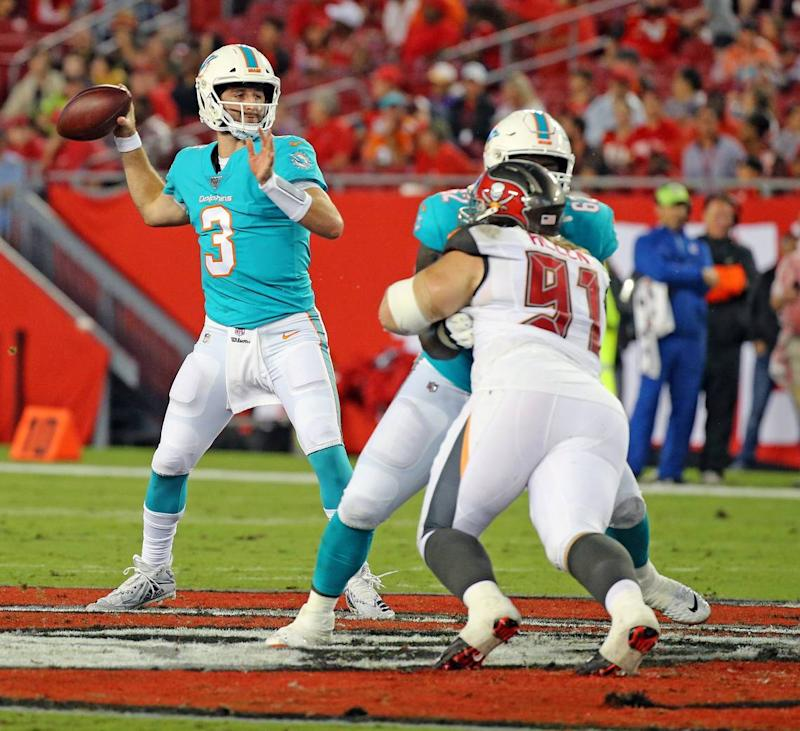 Don't overthink this, Miami Dolphins. Your starting quarterback should be Josh Rosen   Opinion