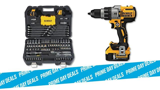 Photo Illustration by Elizabeth Brockway/The Daily Beast * Various DEWALT Tools, up to 35% off * Grab everything you need to make your next home improvement project a breeze. * Shop the rest of our other Prime Day deal picks here. Not a Prime member yet? Sign up here.Working on coffee tables, hanging new art, or even tightening a loose cooking pan handle is much easier with the right tools. When an iconic brand like DEWALT cuts prices on mainstay gear by more than a third, it's a great opportunity to update your toolbox — or finally get one. | Get it on Amazon >Let Scouted guide you to the best Prime Day deals. Shop Here >Scouted is internet shopping with a pulse. Follow us on Twitter and sign up for our newsletter for even more recommendations and exclusive content. Please note that if you buy something featured in one of our posts, The Daily Beast may collect a share of sales.Read more at The Daily Beast.Got a tip? Send it to The Daily Beast hereGet our top stories in your inbox every day. Sign up now!Daily Beast Membership: Beast Inside goes deeper on the stories that matter to you. Learn more.