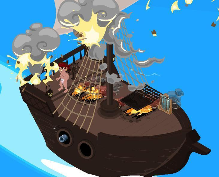 Mighty Pirates Battle