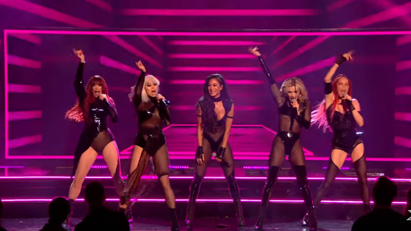 The Pussycat Dolls Perform Epic Medley and New Song 'React&apos During 'X Factor UK&apos Reunion- Watch