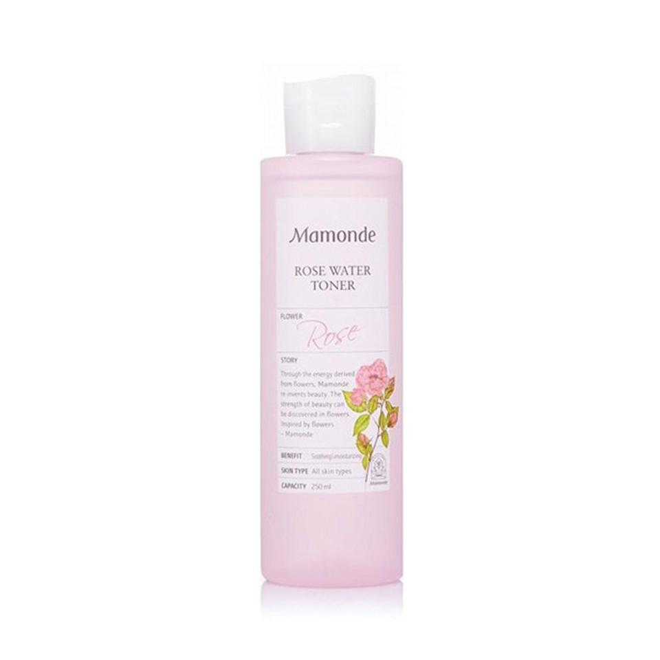 """<p>Mamonde Rose Water Toner is made with 90 percent rose water to give skin an intense boost of hydration. Not only will your skin will feel soft after using it, you'll also get that dewy look that so many of us are constantly chasing.</p> <p><strong>$23</strong> (<a href=""""https://shop-links.co/1698340199898987639"""" rel=""""nofollow noopener"""" target=""""_blank"""" data-ylk=""""slk:Shop Now"""" class=""""link rapid-noclick-resp"""">Shop Now</a>)</p>"""