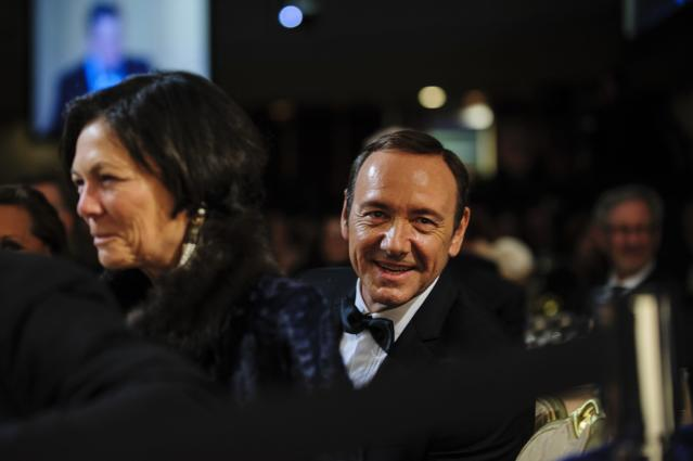 WASHINGTON, DC - APRIL 27: Actor Kevin Spacey looks on during the White House Correspondents' Association Dinner on April 27, 2013 in Washington, DC. The dinner is an annual event attended by journalists, politicians and celebrities. (Photo by Pete Marovich-Pool/Getty Images)