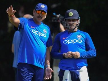 Ravi Shastri says it's for MS Dhoni to decide whether he wants to come back to the Indian team