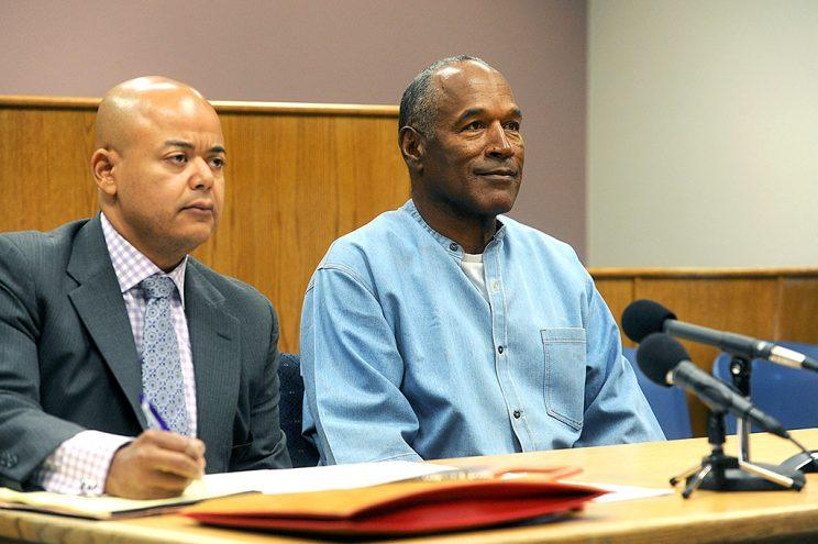 O.J. Simpson attends his parole hearing on July 20 in Lovelock, Nev. (Photo: Jason Bean-Pool/Getty Images)