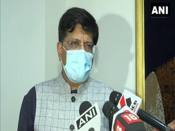 Piyush Goyal took charge as the Union Minister for Commerce and Industry, Consumer Affairs, Food and Public Distribution and Textiles.
